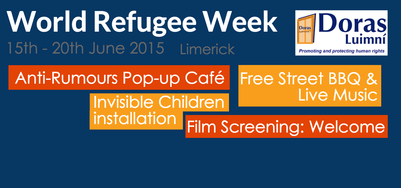 World Refugee Week 2015